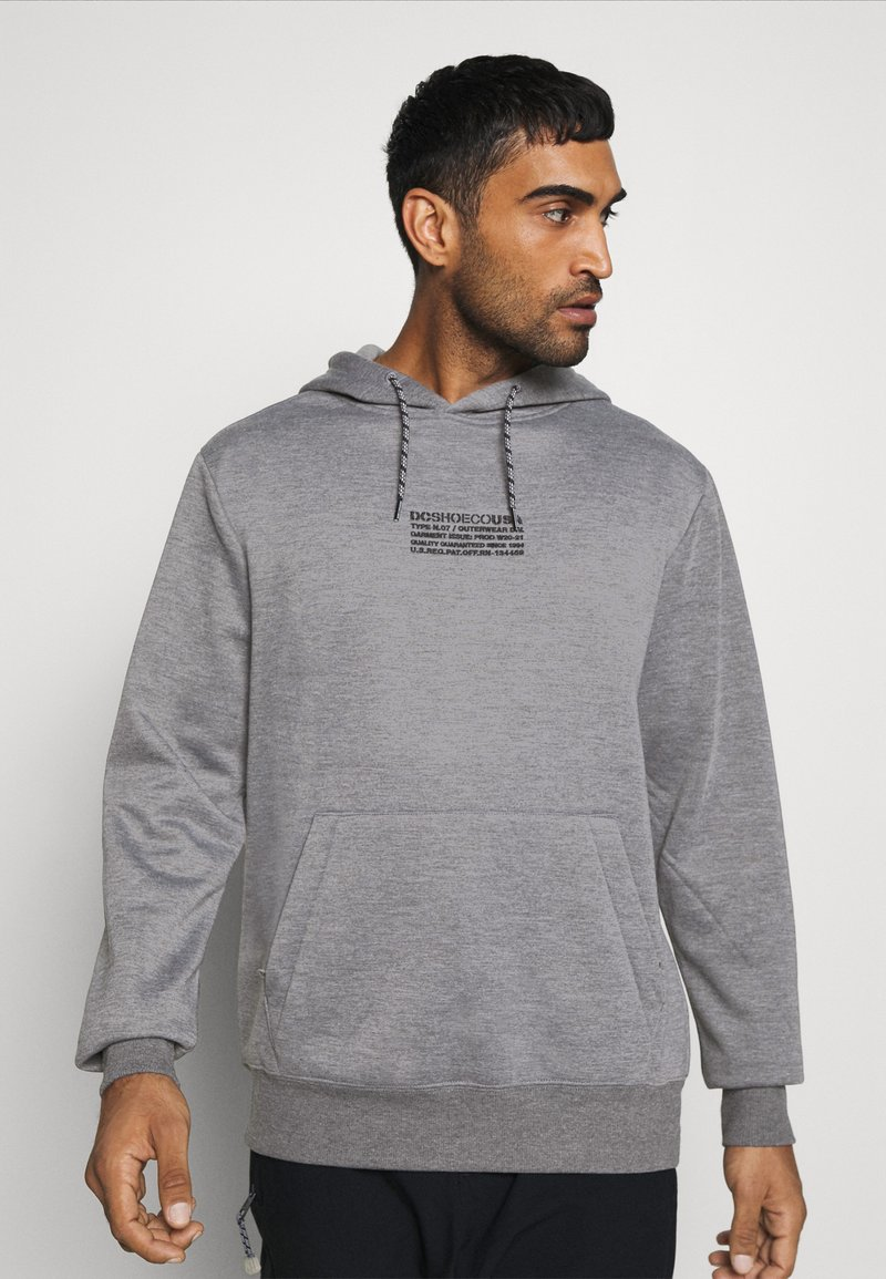 DC Shoes - VERSE - Hoodie - frost gray