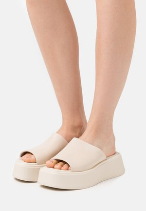 COURTNEY - Heeled mules - offwhite