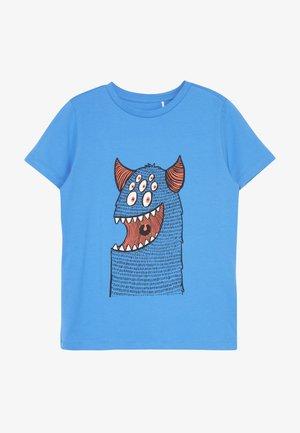 NKMDEXTOR  - Print T-shirt - swedish blue