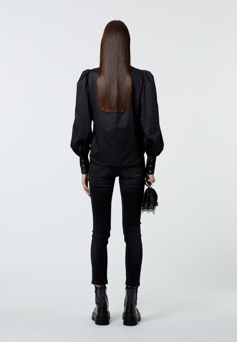 The Kooples - Button-down blouse - black