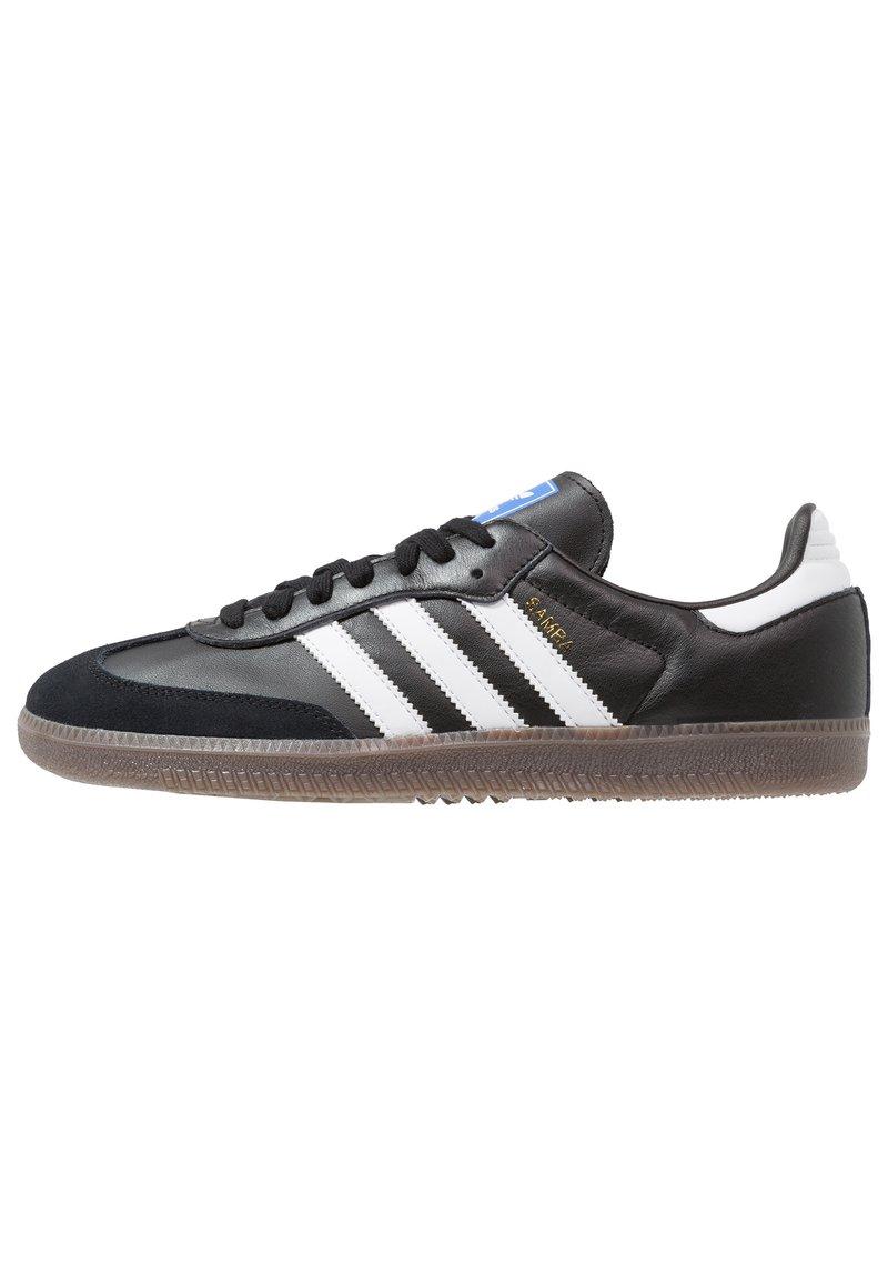 adidas Originals - SAMBA - Trainers - cblack/ftwwht/gum5