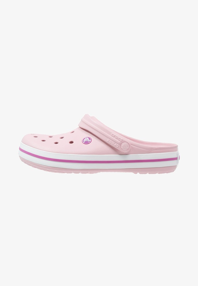 Crocs - CROCBAND RELAXED FIT - Muiltjes - pearl pink/wild orchid