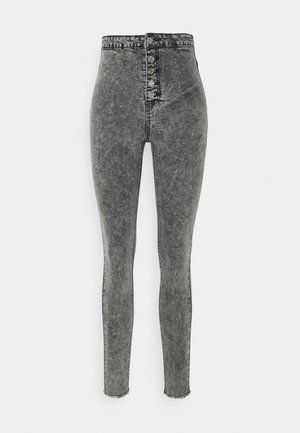 VICE BUTTON UP - Jeans Skinny Fit - grey