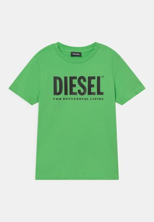 LOGO MAGLIETTA UNISEX - T-shirt print - green fluo