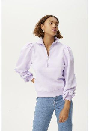 NANKITAGZ ZIPPER  - Sweatshirt - pastel lilac