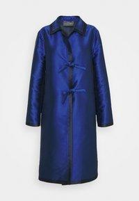 LONG JACKET - Classic coat - light blue