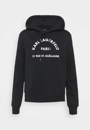 ADDRESS LOGO HOODIE - Sweatshirt - black