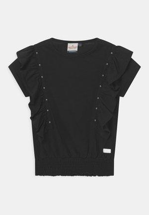 VALERIE - Print T-shirt - black