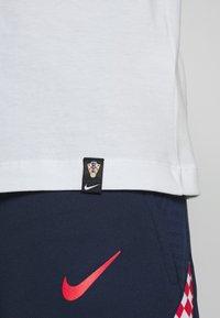 Nike Performance - KROATIEN CRO TEE GROUND - Voetbalshirt - Land - white - 5