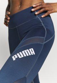 Puma - PAMELA REIF X PUMA COLLECTION MID WAIST - Leggings - sargossa sea - 4