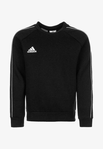CORE 18 - Sweatshirt - black / white