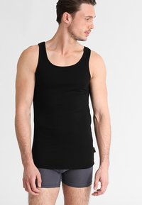 Sloggi - 24/7 2 PACK - Undershirt - black - 2