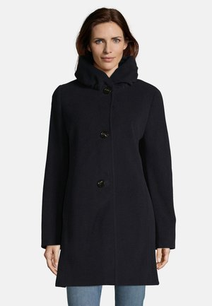 MIT STEHKRAGEN - Short coat - dunkelblau