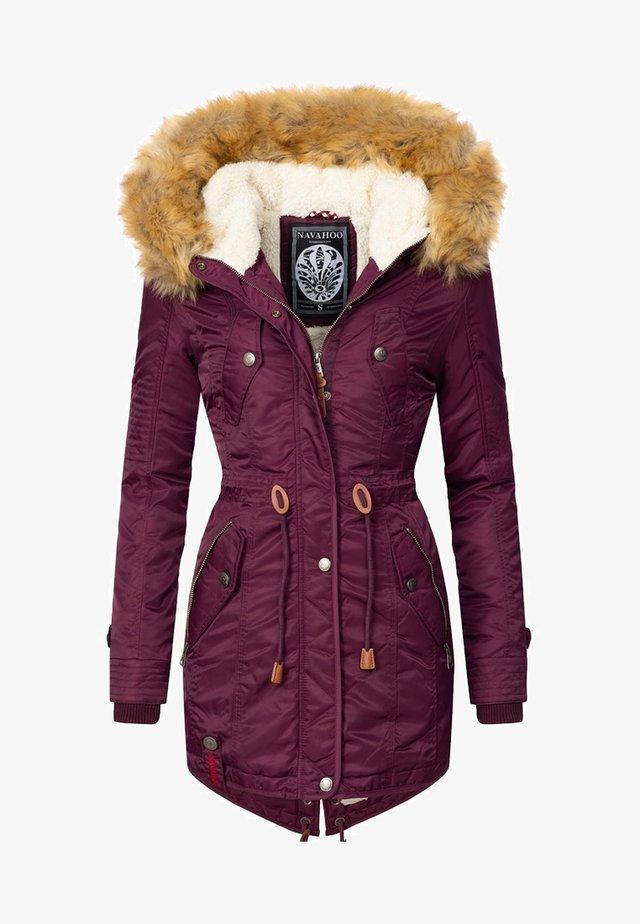 VIVA - Winter coat - burgundy