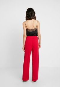 Nly by Nelly - MY FAVOURITE PANTS - Trousers - red - 3