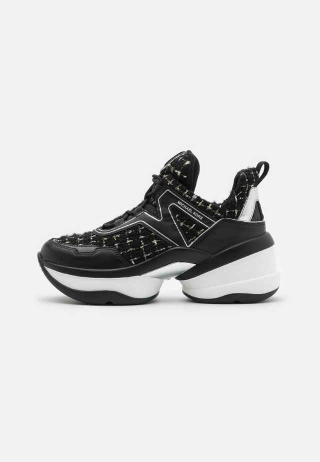 OLYMPIA TRAINER - Trainers - black
