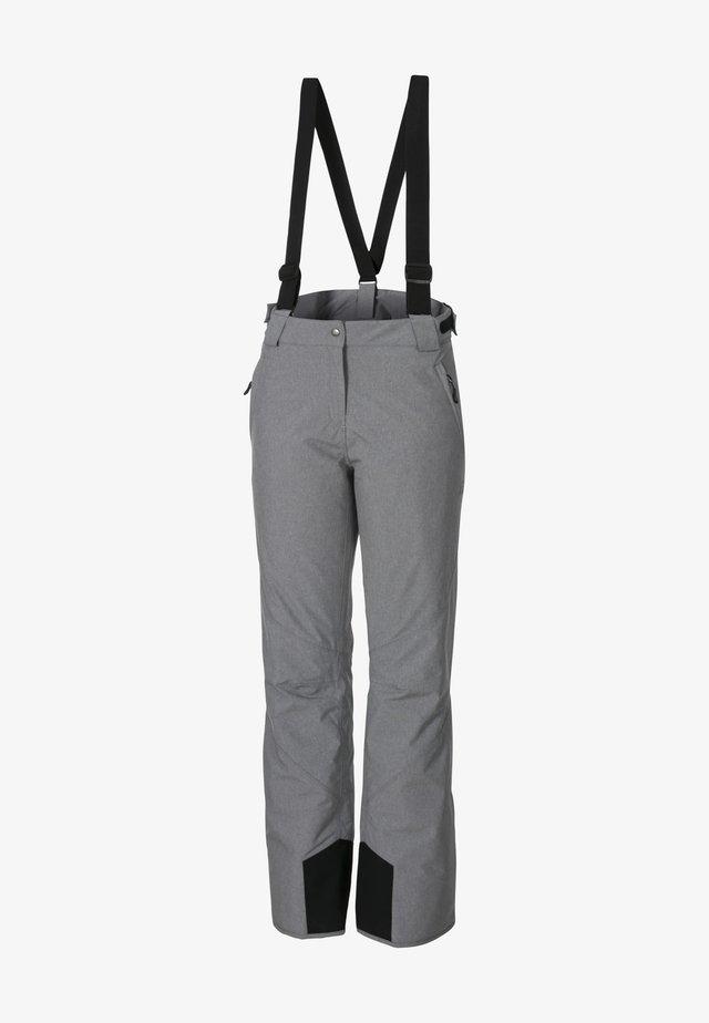 FINJA - Snow pants - sharkskin melange