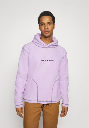CONTRAST STITCH HOODIE UNISEX - Hoodie - lilac