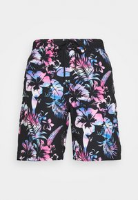 SIKSILK - HAWAII BOARD SWIM - Swimming shorts - black - 3
