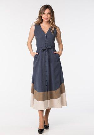 GARGI - Shirt dress - blue