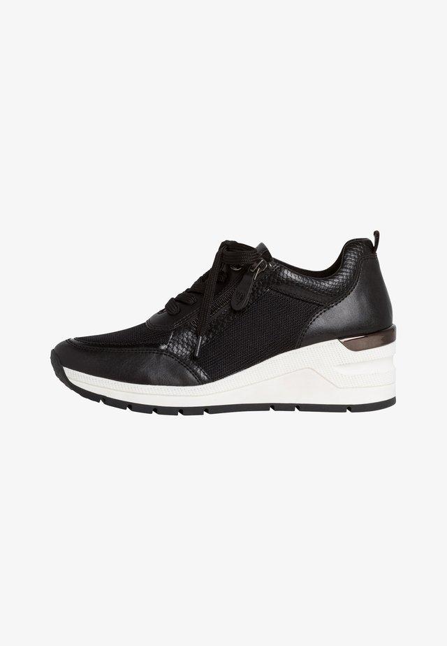 SNEAKER - Sneakers hoog - black comb