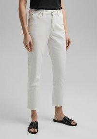 Esprit - Straight leg jeans - off white - 3