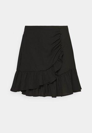 LIWRAP SKIRT - Omlottkjol - black