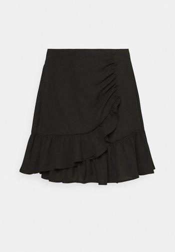 LIWRAP SKIRT - Omslagsskjørt - black