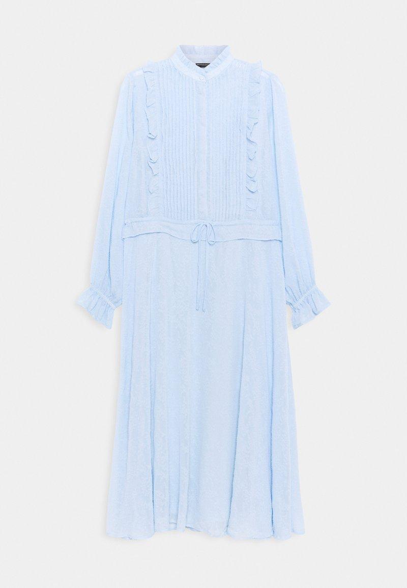 Bruuns Bazaar - NETTLE THERESE DRESS 2-IN-1 - Shirt dress - sky