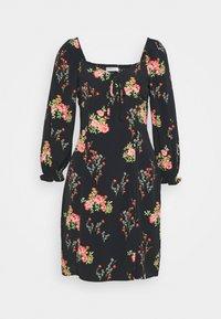 Glamorous Tall - LADIES DRESS FLORAL MINI - Korte jurk - black/pink - 0