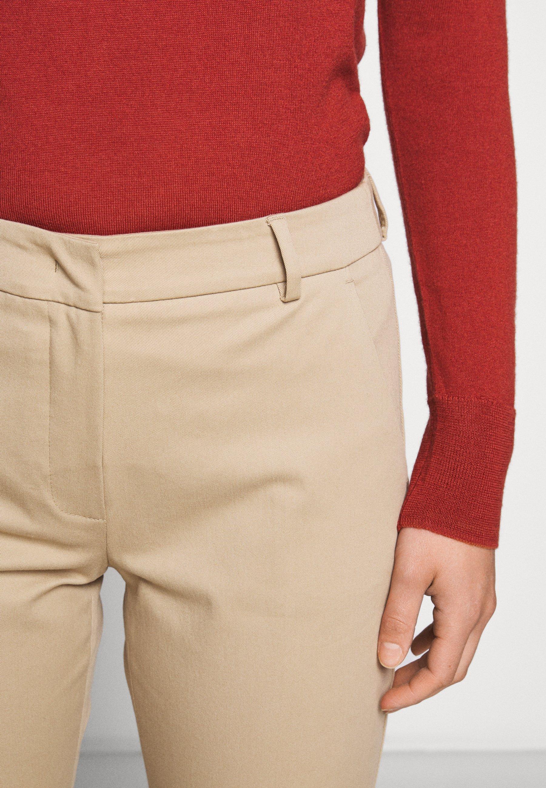 WEEKEND MaxMara ZANNA - Pantalon classique - kamel - Pantalons & Leggings Femme h8PM1