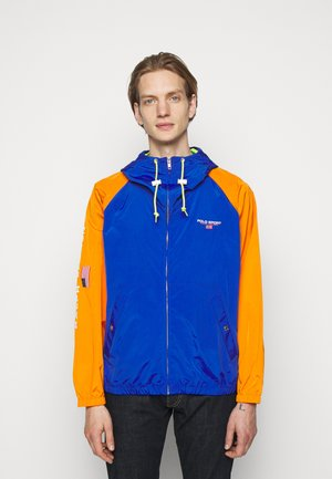 UNLINED JACKET - Summer jacket - rugby royal/orange/bright pearl