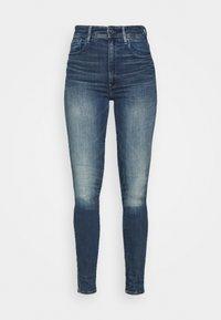 G-Star - KAFEY ULTRA HIGH SKINNY - Jeans Skinny Fit - antic faded baum blue - 0