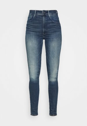 KAFEY ULTRA HIGH SKINNY - Jeans Skinny Fit - antic faded baum blue
