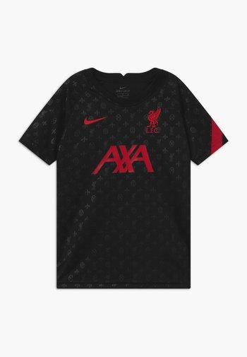 FC LIVERPOOL DRY - Club wear - black/gym red
