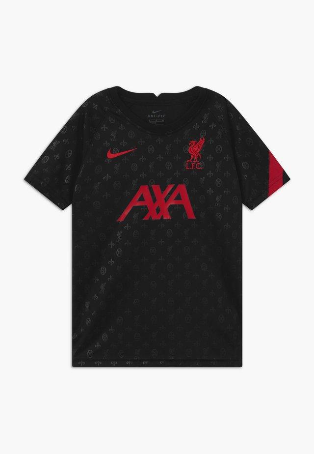 FC LIVERPOOL DRY - Fanartikel - black/gym red