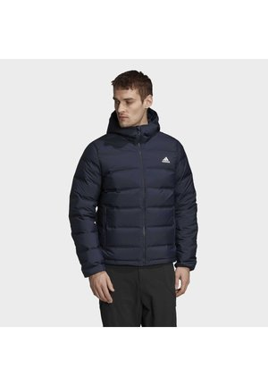HELIONIC OUTDOOR HOODED DOWN - Dunjakker - blue