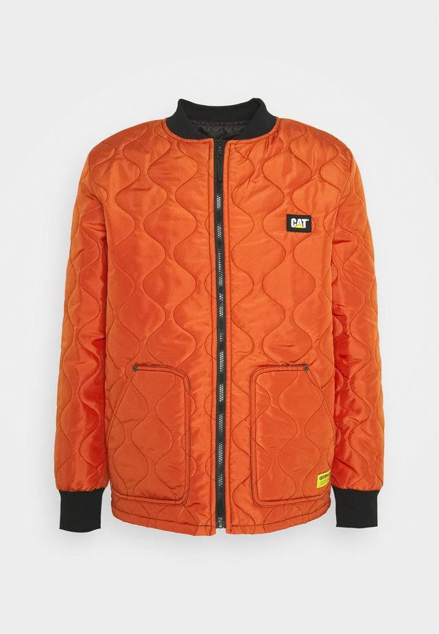 ICONIC JACKET - Light jacket - dark orange