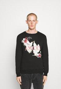 AMICCI - AGEROLA - Sweatshirt - black - 0