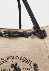 U.S. Polo Assn. - ELMORE - Tote bag - natural/black - 5