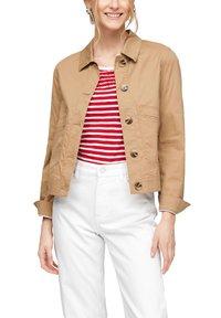 s.Oliver - Summer jacket - beige - 0