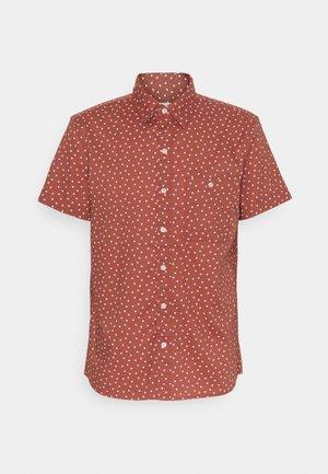 STRETCH BLOOM DITSY - Overhemd - burgundy
