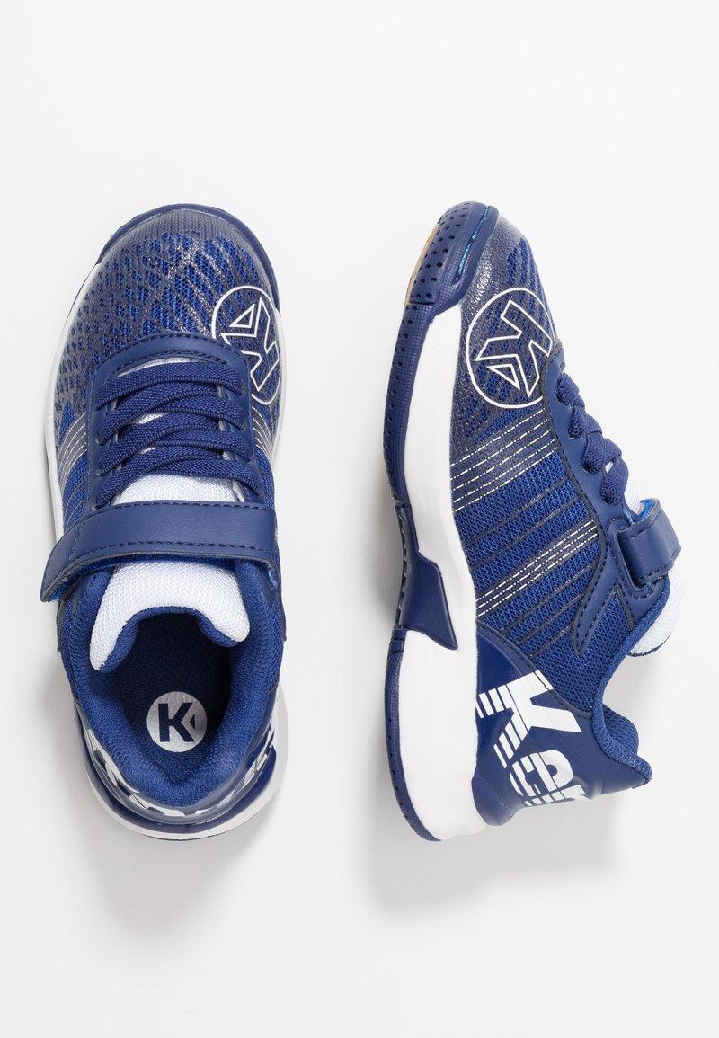 Kempa - ATTACK CONTENDER JUNIOR CAUTION - Handball shoes - midnight blue/white