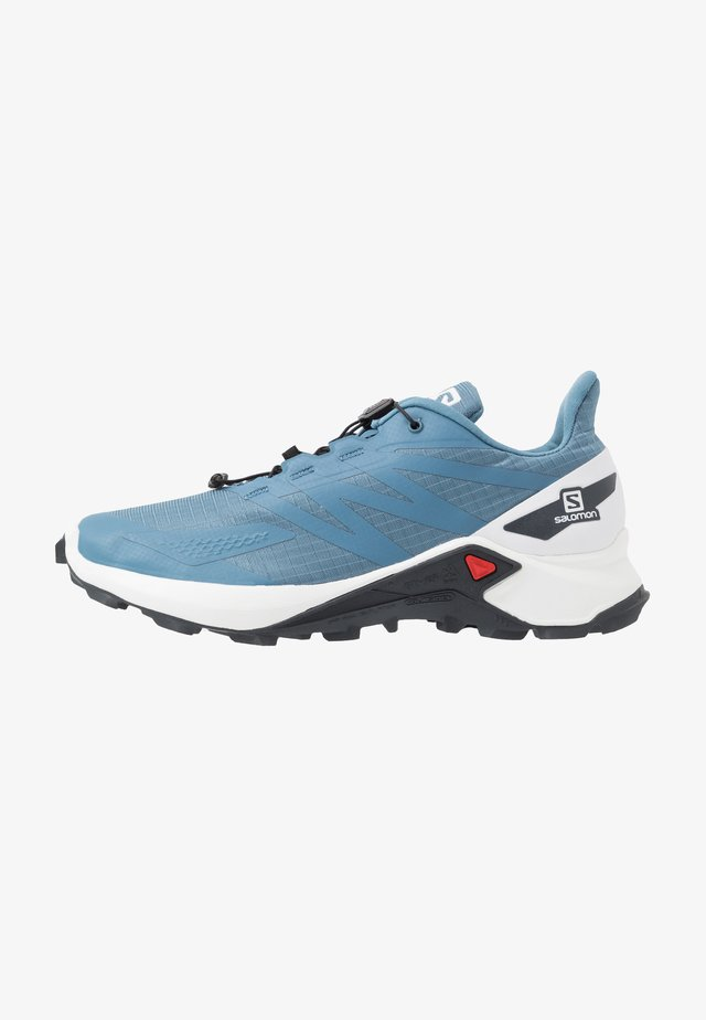 SUPERCROSS  BLAST - Laufschuh Trail - copen blue/white/ebony