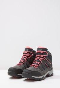 Hi-Tec - BANDERA II WP  - Hiking shoes - charcoal/graphite/blossom - 3