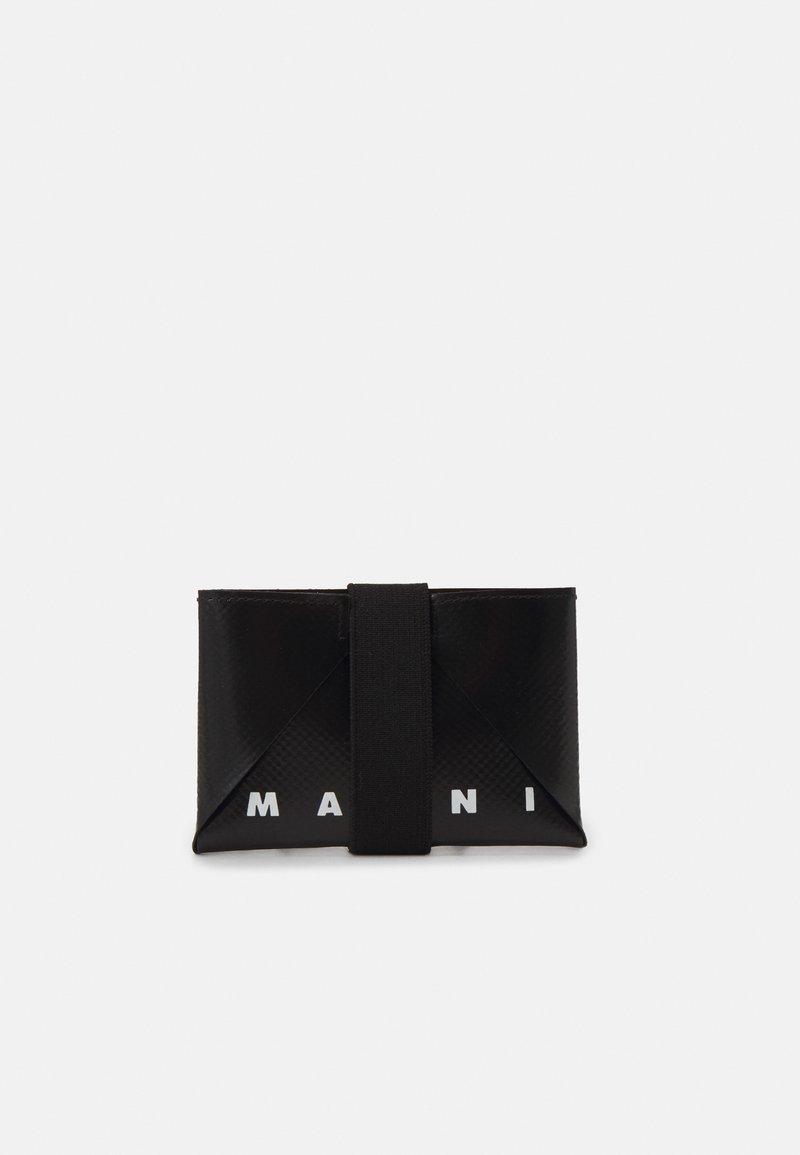 Marni - TRIBECA HOLDER UNISEX - Wallet - black/royal