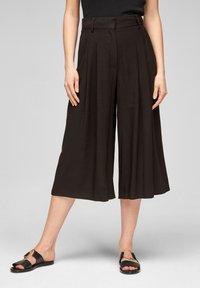s.Oliver BLACK LABEL - Pantalon classique - black - 0