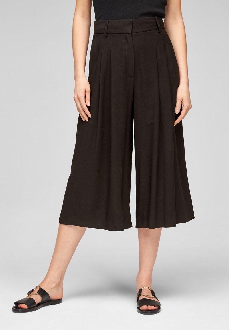 s.Oliver BLACK LABEL - Pantalon classique - black