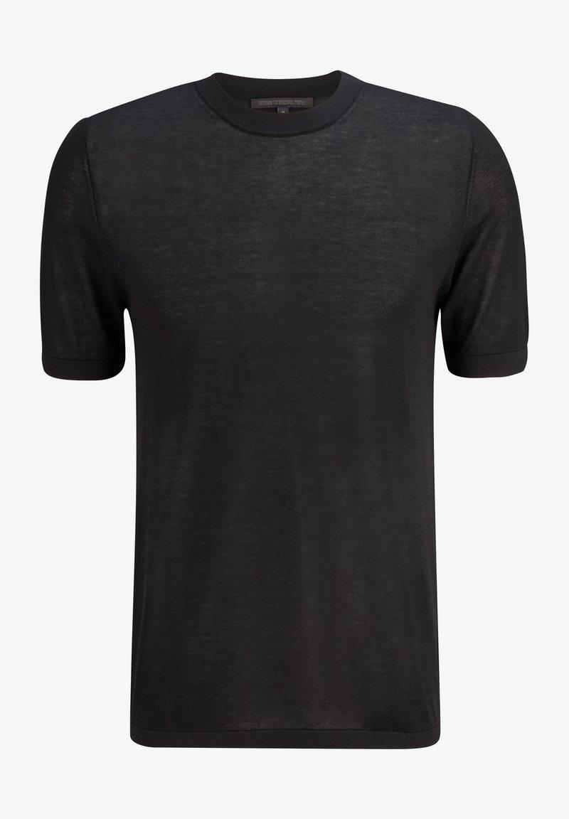 DRYKORN - Basic T-shirt - black