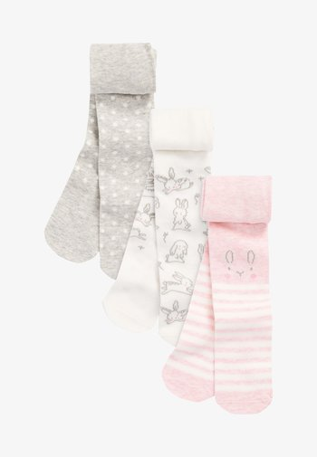 3 PACK - Over-the-knee socks - pink